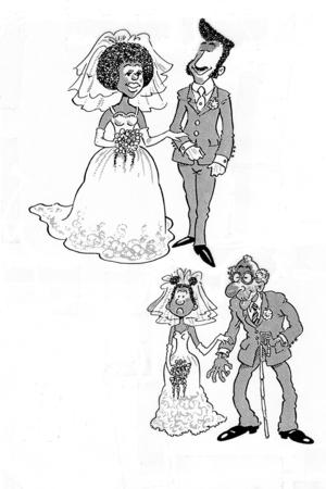 старик молодая невеста